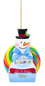 Giant Holiday Lollipops