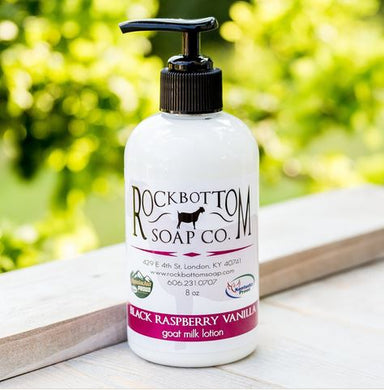 Black Raspberry Vanilla Goat Milk Lotion