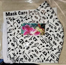 Load image into Gallery viewer, Reusable Face Masks - 2 ply w/Filter Pocket