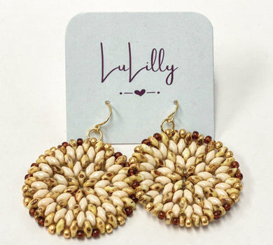 Beaded Earrings by LuLilly - Choose Colors and Styles!