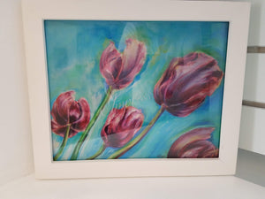 """Katie's Tulips"", Limited Edition Framed Print"