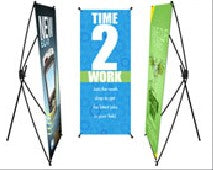 Collapsible X-Frame Full Color Banner