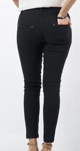 Stretch Twill Pants w/Zipper