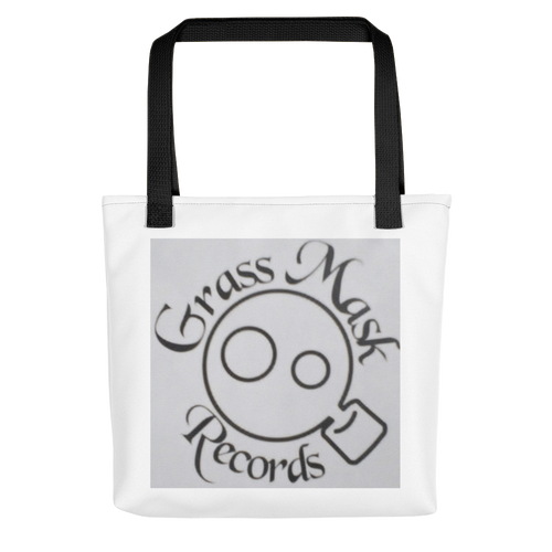 Gass Mask Records Reusable Tote bag