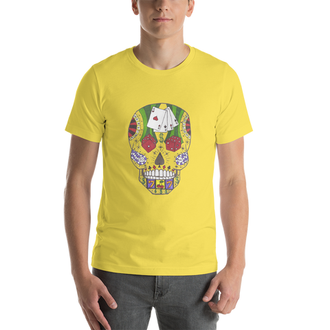 King of Game Skull Short-Sleeve Unisex T-Shirt