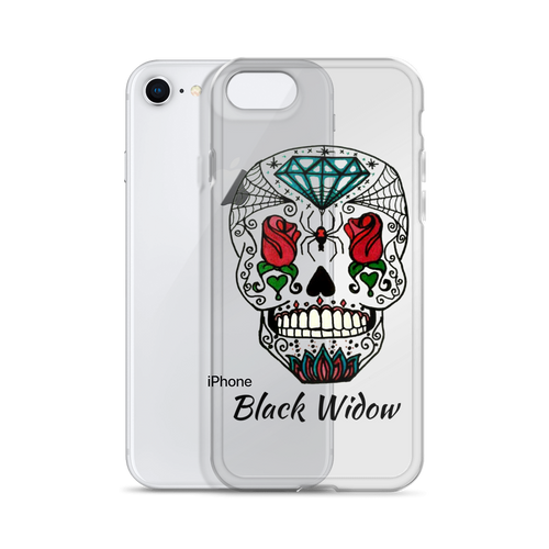 iPhone Case-Black Widow