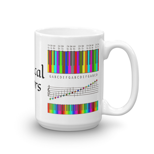 Musical Colors Mug