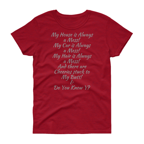 Mommy and Me-Women's short sleeve t-shirt