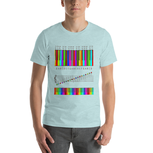 Musical Colors Short-Sleeve Unisex T-Shirt