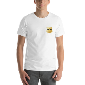 Law Dog-Dove Tech. Talks Short-Sleeve Unisex T-Shirt