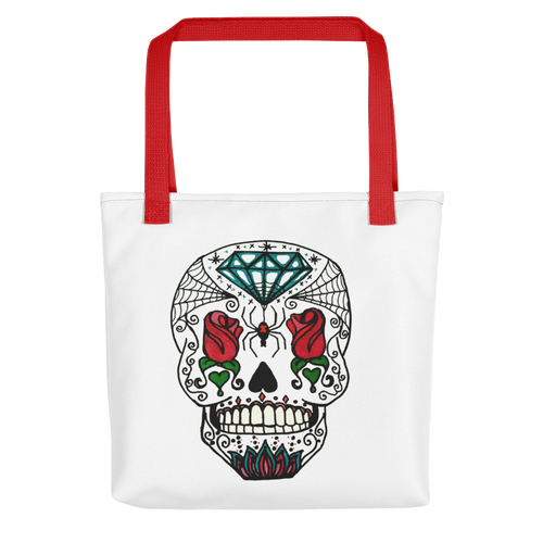 Queen of Rose Reusable Tote bag