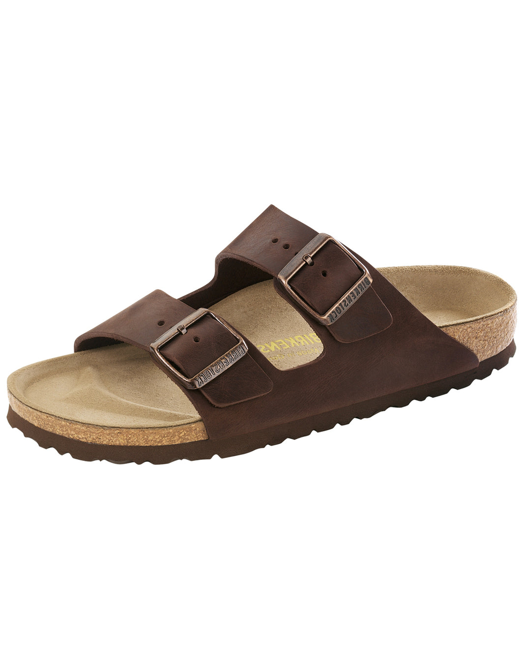 BIRKENSTOCK ARIZONA HABANA OILED LEATHER SANDAL NARROW