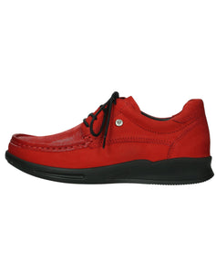 WOLKY 05901 E-BOOSTER LACE SHOE - DARK RED