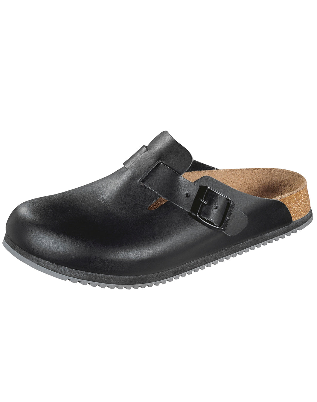 BIRKENSTOCK BOSTON NL SMOOTH LEATHER BLACK NARROW