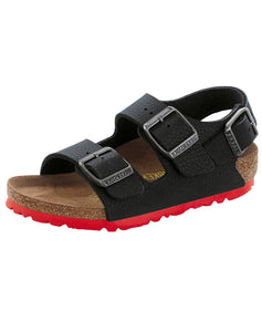 BIRKENSTOCK MILANO KIDS DESERT SOIL BLACK BF NARROW