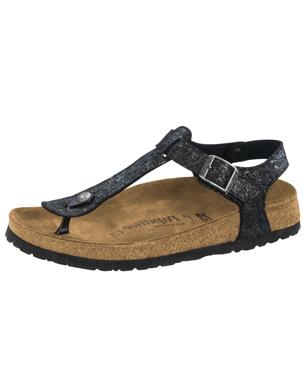 BIRKENSTOCK KAIRO GRACE BLACK NU REGULAR