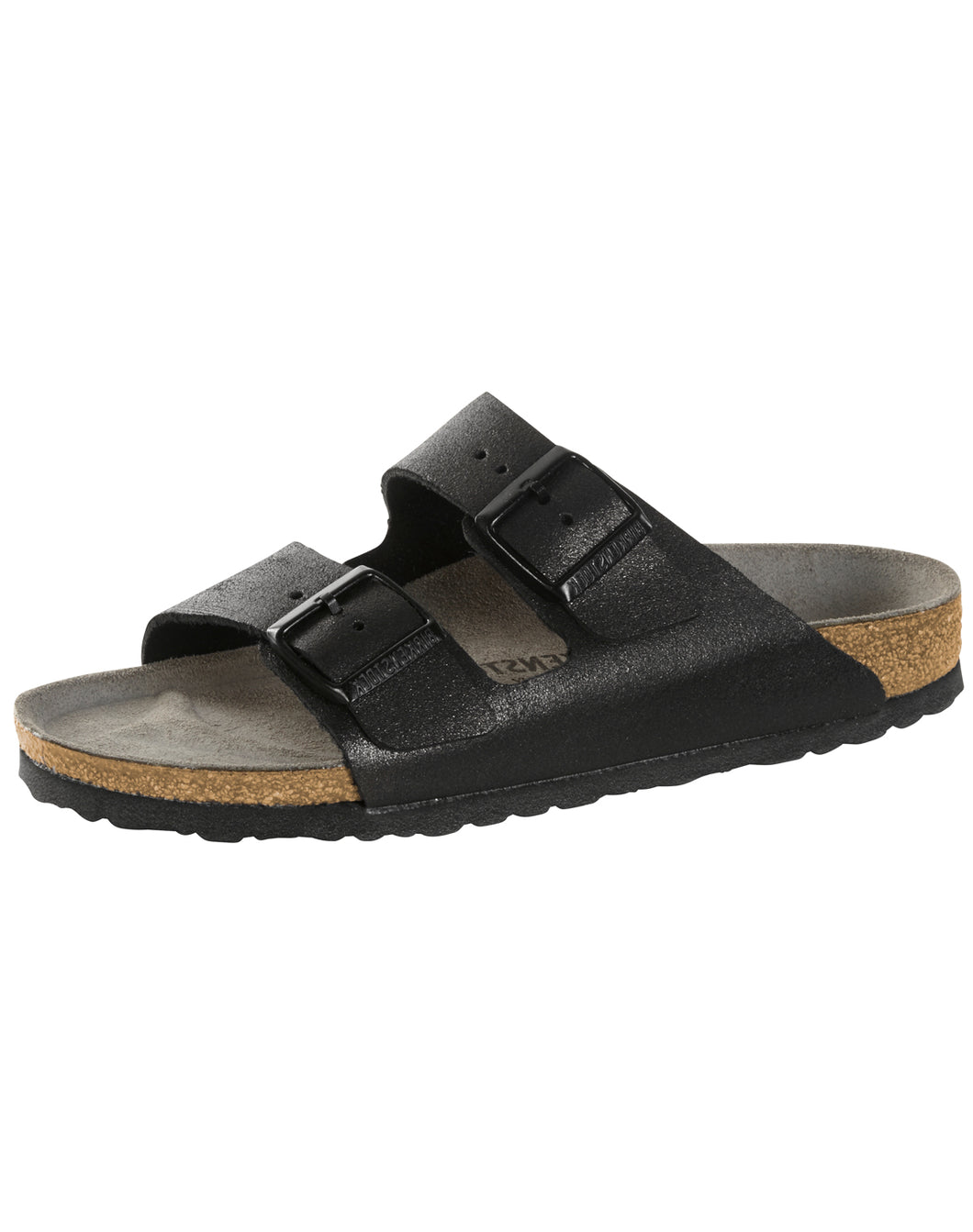 BIRKENSTOCK ARIZONA WASHED MET/ANT BLACK SU NARROW