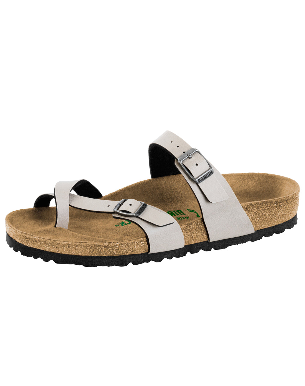 BIRKENSTOCK MAYARI PULL UP STONE VEGAN BF REGULAR