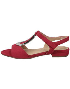 ARA 16839 VEGAS RED SUEDE