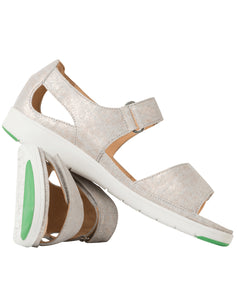 GANTER 200146 GINA BACK IN SANDAL CHIC GREY