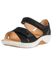 Load image into Gallery viewer, GANTER 204062 GENDA OPEN TOE BLACK