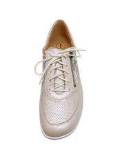 Load image into Gallery viewer, 204749 INGE ZIP LACE SHOE 5-7.5H GANTER S20 - PORZELLAN SPORTY MET