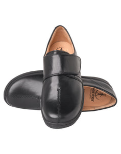 GANTER 204941 GERA VELCRO SHOE BLACK CALF