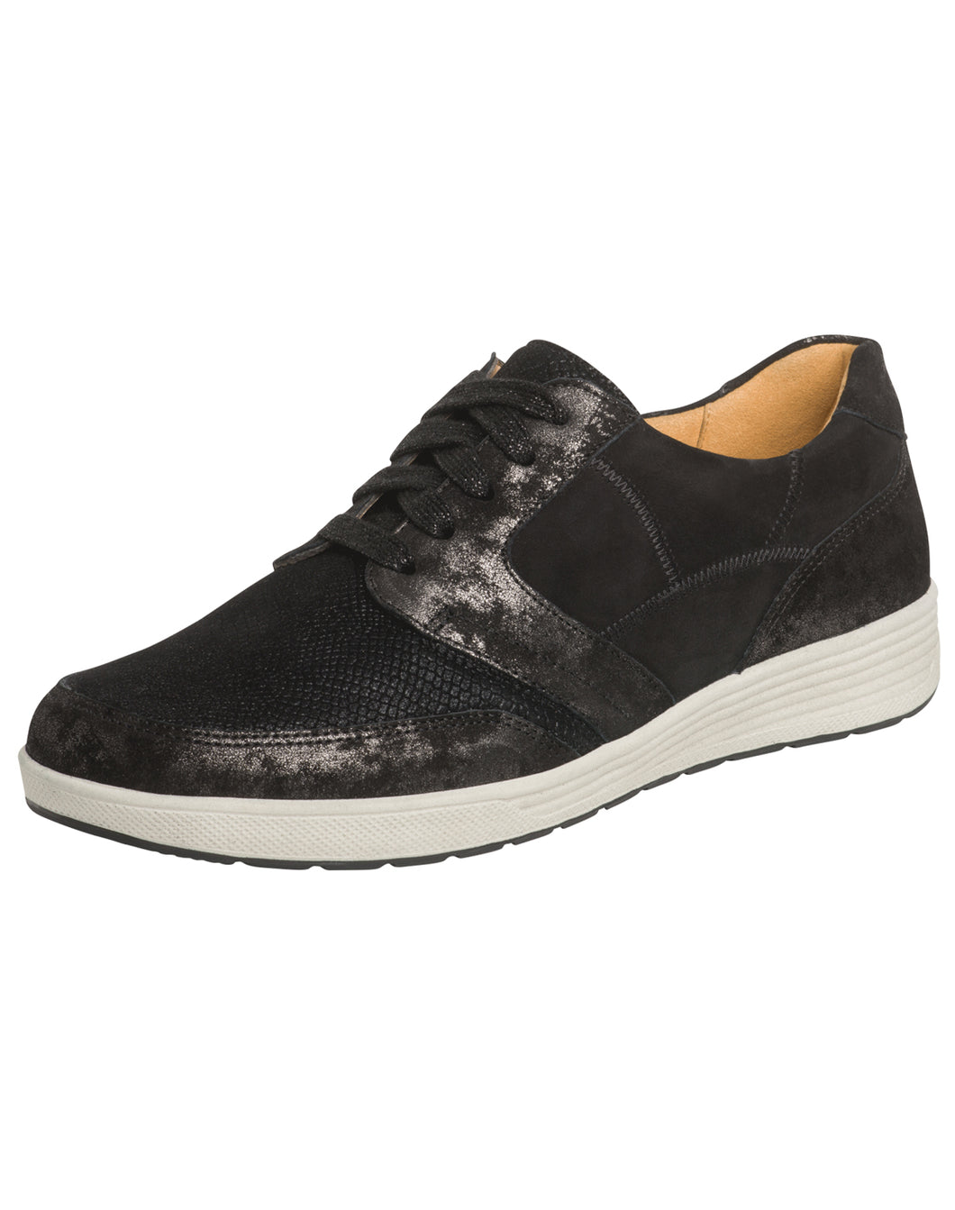 GANTER 208143 KLARA LACE SHOE BLACK