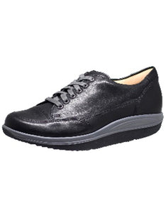 GANTER 208767 GISA LACE ROCKER SHOE BLACK