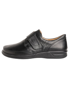GANTER 256711 KURT VELCRO SHOE - BLACK CALF