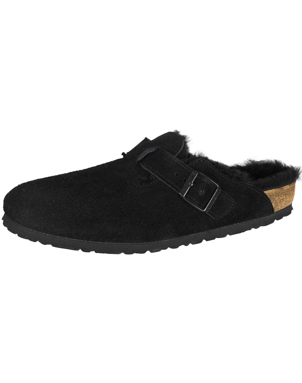 BIRKENSTOCK BOSTON BLACK SU SHEEPSKIN REGULAR