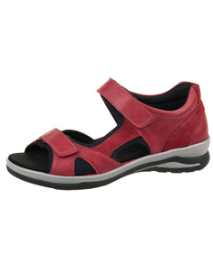 496023 HILLY BACK IN SANDAL 35-43F FIDELO S20 - RED SANTIAGO