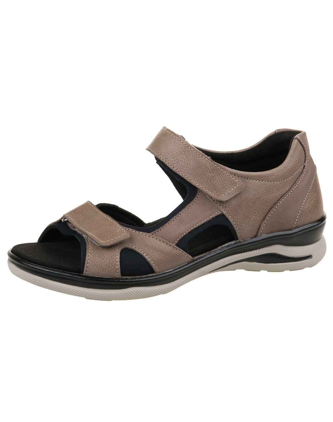 FIDELIO 496023 HILLY BACK IN SANDAL 35-43F - TAUPE SANTIAGO NUBUK