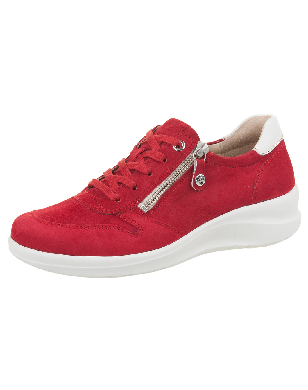 FIDELIO 546104 HARMONY ZIP LACE SHOE 4.5-7.5H  - RED AMALFI