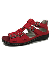 Load image into Gallery viewer, WALDLAUFER 582002 HILENA BUCKLE SANDAL - DENVER FEUER