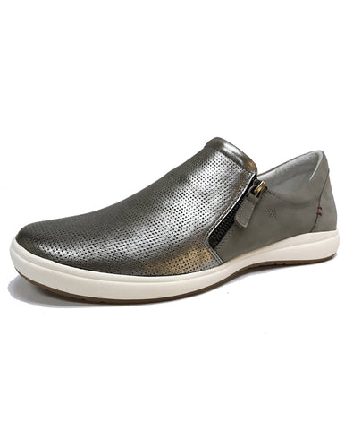 JOSEF SEIBEL 67722 CAREN 22 SLIP-ON SHOE - PLATIN