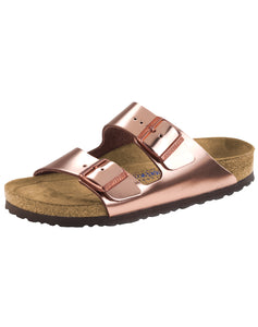 BIRKENSTOCK ARIZONA METALLIC COPPER NL SFB REGULAR