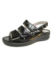 Load image into Gallery viewer, WALDLAUFER 811001 MERLE SLINGBACK TAIPEI SCHWARZ