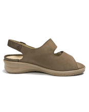 Load image into Gallery viewer, WALDLAUFER 811004 MERLE 25 DBL VELC 4.5-8.5H - TAUPE NUBUCK