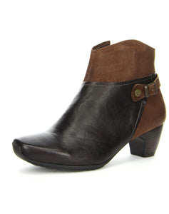 THINK 81223 ANA ANKLE BOOT ESPRESSO KOMBI