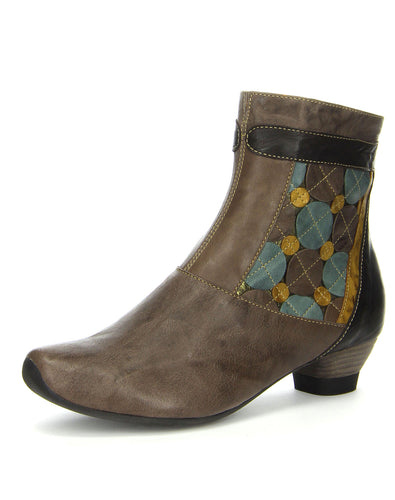 THINK 81262 AIDA BABA ANKLE BOOT KRED KOMBI