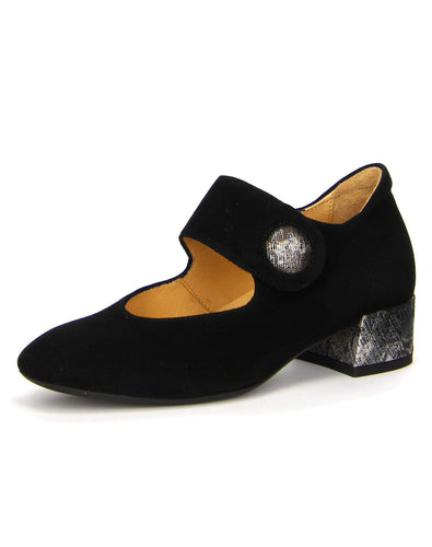 THINK 83230 GLEI MJ HEEL 37-42H THINK W19 - BLACK VELVET