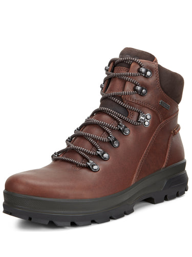 ECCO 838024 RUGGED TRACK LACE BOOT BISON MOCHA