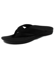 Load image into Gallery viewer, AXIGN AG006A01 ORTHOTIC FLIP FLOP  - BLACK