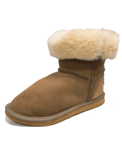 BLUESHEEP FU1010 3 QUARTER UGG BOOT US 4-13 - CHESTNUT