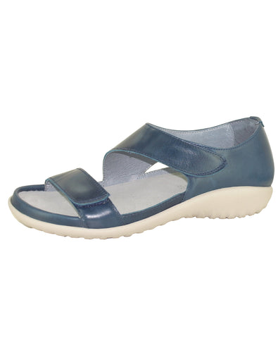 NAOT MANAWA BACK IN VELCRO SANDAL - INTENSE BLUE