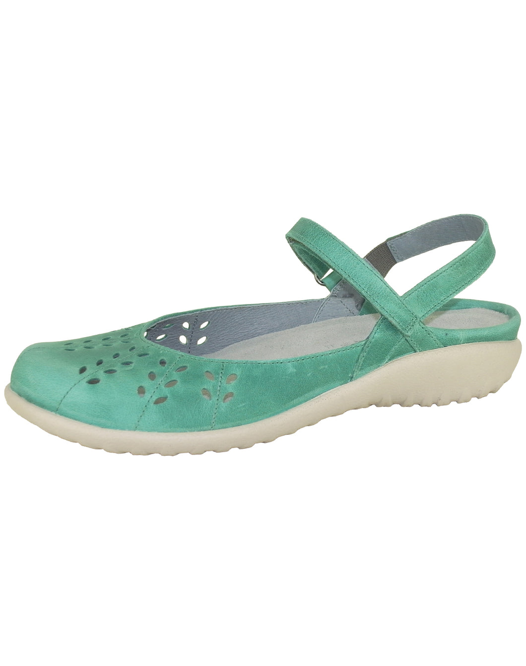 RARI CLOSED TOE SANDAL 36-42F NAOT S20 - OILY EMERALD