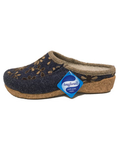 TAOS WOOLDERNESS CLOG - NAVY