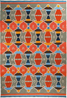 OLK-07 Balanced Love (Coral/Gray) (200x300cm) Price on request