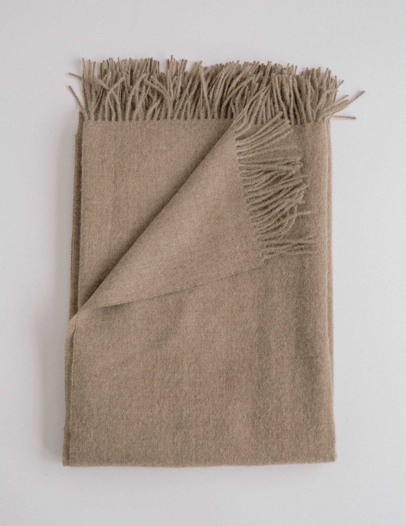 Your Sunday Night Blanket: Luxury Alpaca Throw